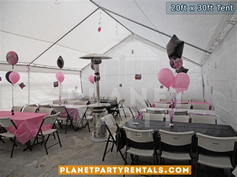 table and chair rentals san fernando valley 20ft x 30ft tent rental pictures prices