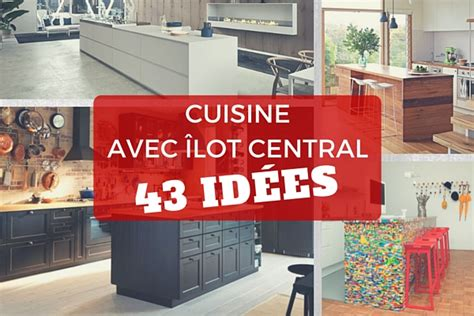 id馥 implantation cuisine cuisine avec 238 lot central 43 id 233 es inspirations