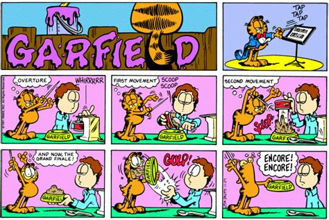 garfield feeds the his 35th book books mezzacotta square root of minus garfield
