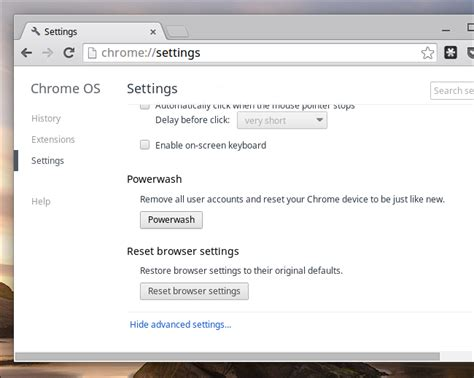 reset developer tools chrome how to factory reset a chromebook even if it won t boot