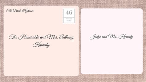 Wedding Invitation Judge by How To Address Wedding Invitations Southern Living
