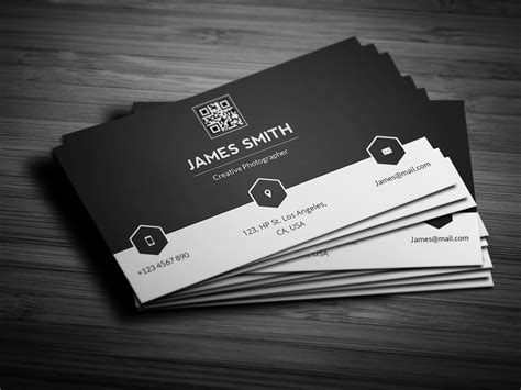 minimalist name card template black white minimal business card business card