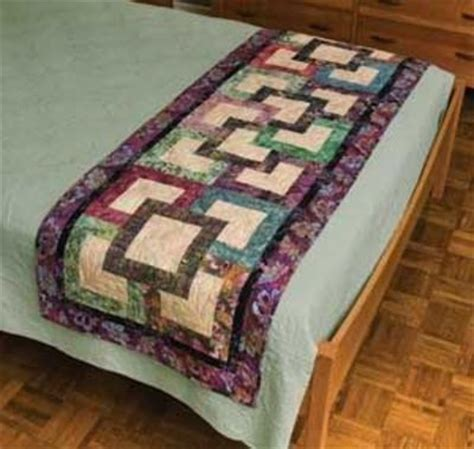 Free Bed Runner Quilt Patterns garden path bed runner pattern quilting fever juxtapost