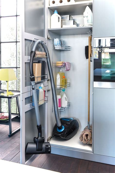 cleaning solution for kitchen cabinets best 25 vacuum storage ideas on pinterest broom storage