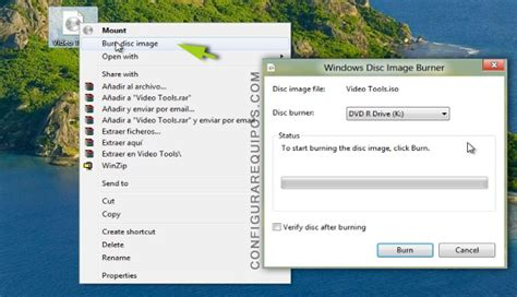 montar imagenes virtuales en windows 8 montar y grabar im 225 genes iso en windows 8