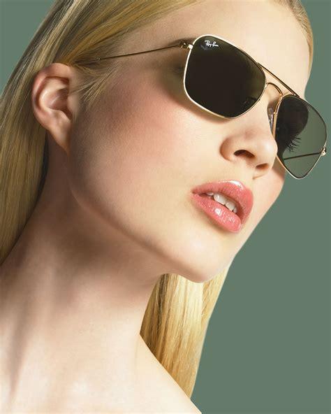 Eyewear Rocca Silver lyst ban caravan aviator sunglasses in metallic