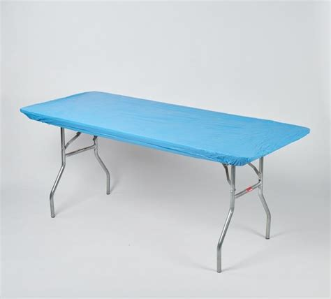 kwik covers banquet plastic table covers 8 x 30