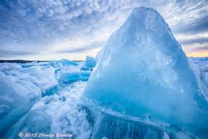 icy blue why is blue or green michigan in pictures