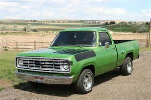 1976 Dodge Truck 1976 Dodge D100 Box Fleetside Truck