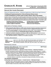 Sample Resume Software Engineer sample software engineer resume this resume was