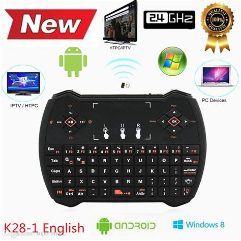 Keyboard Genggam Wireless Dengan Touch Pad V6 Black 1 keyboard genggam wireless dengan touch pad v6 black jakartanotebook