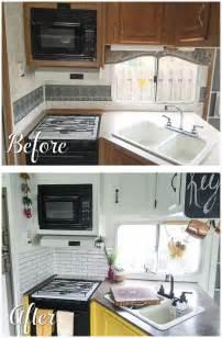 Camper Trailer Kitchen Ideas Best 25 Rv Remodeling Ideas On Pinterest