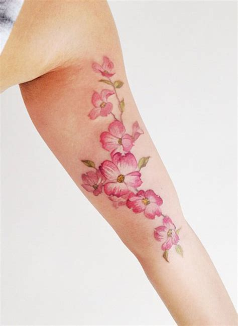 girly flower tattoo designs 40 sensational girly designs golfian