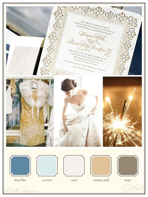 new years colors wedding color palettes new year s eve glam bella figura