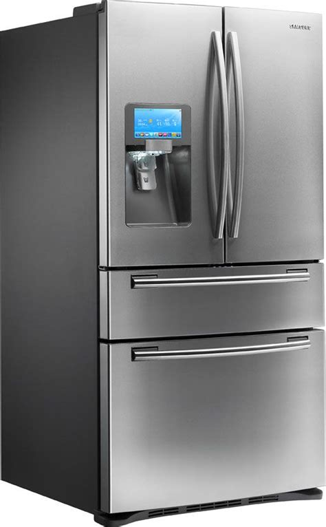 Samsung Door Refrigerator With Wifi by Samsung Fridge W Wifi Enabled Lcd Screen For The Home