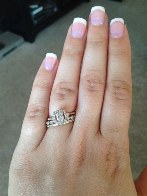 Wedding Ring Stack by Talk To Me About Stacking Rings