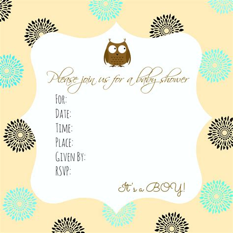 Baby Shower Invitation Baby Shower Invitation Templates New Invitation Cards New Baby Shower Invitation Template