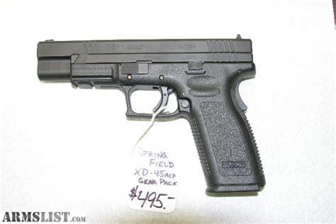 springfield xd 45 acp tactical light armslist for sale springfield xd 45 acp tactical