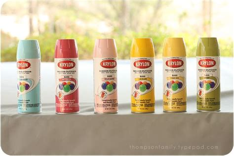 krylon spray paint diy paint spray paint projects