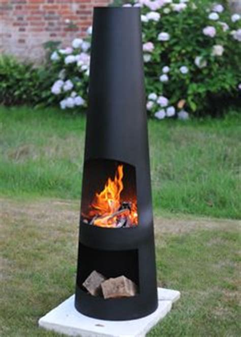 Designer Chiminea Steel Metal Chiminea Chimenea Outdoor Wood
