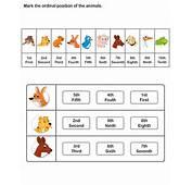 Printable Ordinal Number Worksheets  Kindergarten To Learn