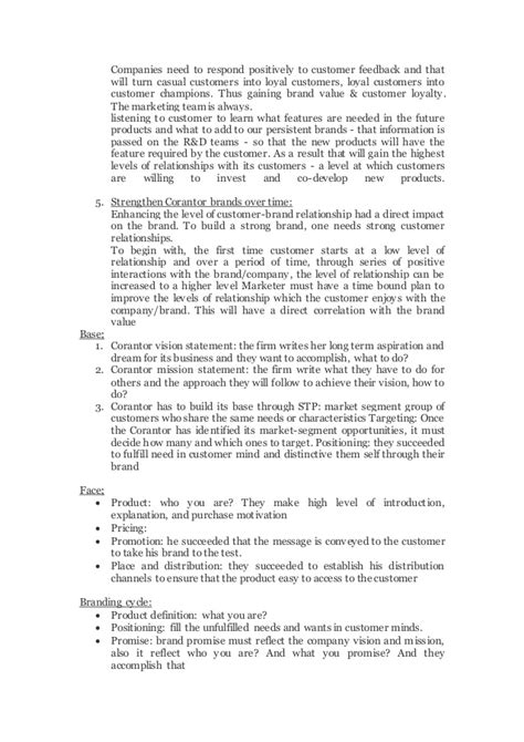 Branding Notes For Mba by Marketing Seminar Mba Branding Aast