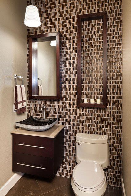 contemporary powder room small vanity mirror design 25 modern powder room design ideas