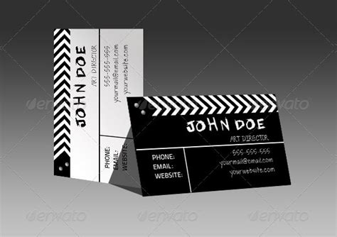 Film Business Card Template 25 Free Premium Designs Download Filmmaker Business Card Template