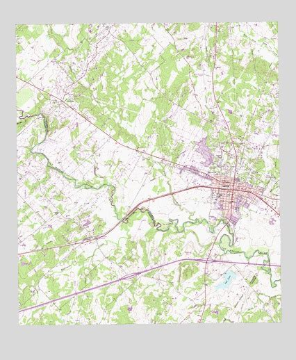 where is luling texas on a map luling tx topographic map topoquest