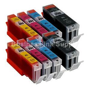 8 pack canon pgi 250xl cli 251xl compatible ink cartridge pgi 250 cli 251 2x4pk 741866567503 ebay