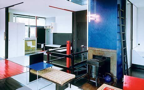 interior design  schroeder house  utrecht telegraph