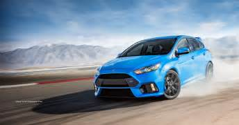 Ford Focus 2017 Ford Focus Rs Hatchback The Legacy Continues Ford