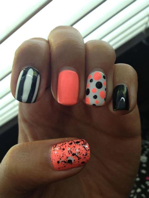 design nail cover 331 best polka dot nails images on pinterest nail