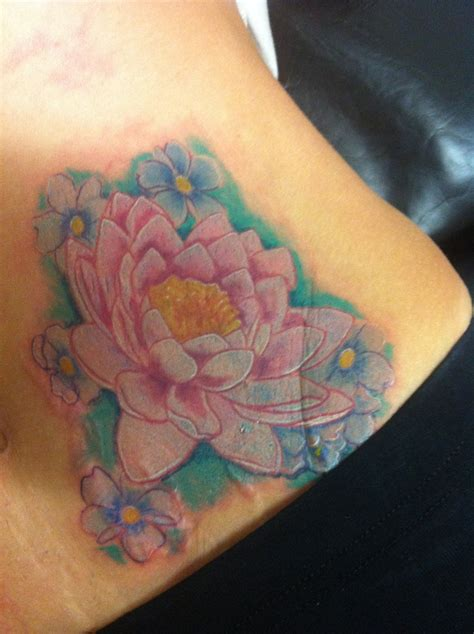 water lily tattoo water tattoos
