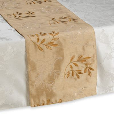 table runners bed bath and beyond buy gold table runners from bed bath beyond