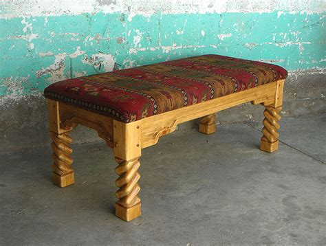 southwestern chairs and ottomans southwest custom southwestern