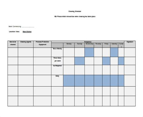 27 Free Microsoft Word Schedule Templates Free Premium Templates Microsoft Schedule Templates