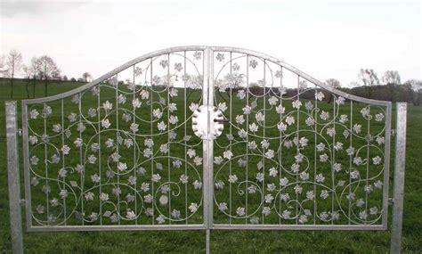 Gartentor Metall Verzinkt