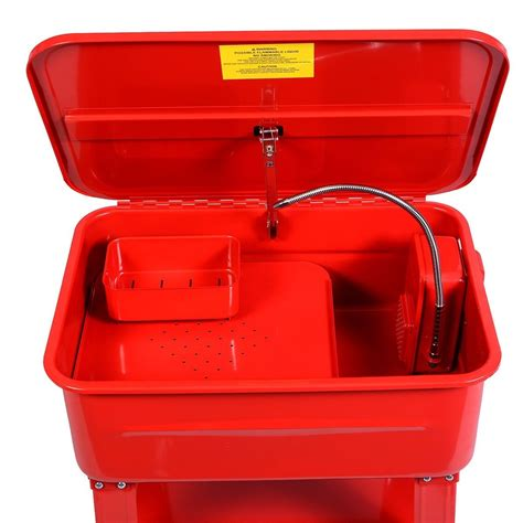 heated parts washer 40 gallon electric parts washer solvent tank build