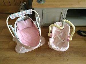 baby annabell swing baby annabell swing and car seat