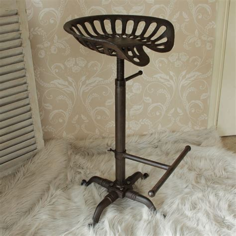 Seat Stool by Metal Tractor Seat Kitchen Bar Stool Melody Maison 174