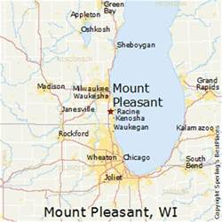 best places to live in mount pleasant wisconsin