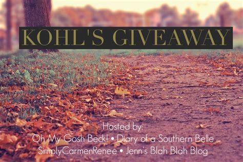 Does Kohls Sell Gift Cards - 100 kohl s gift card giveaway