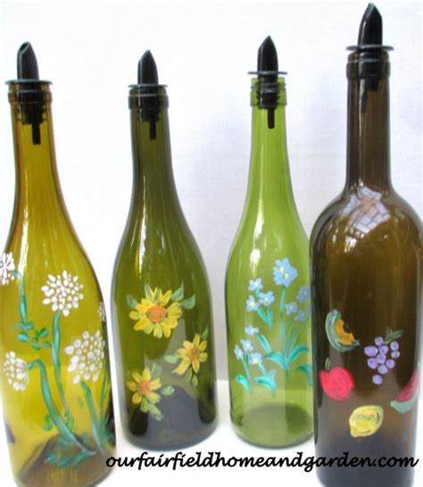 upcycled bottles for kitchen laundry 31 days of handmade gifts