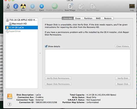how to force format external hard drive mac new lacie drive fails to mount on mac osx 10 8