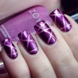 17 beautiful dark purple nail designs