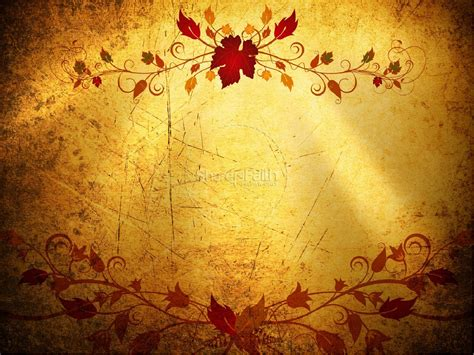 faith powerpoint sermon template fall thanksgiving