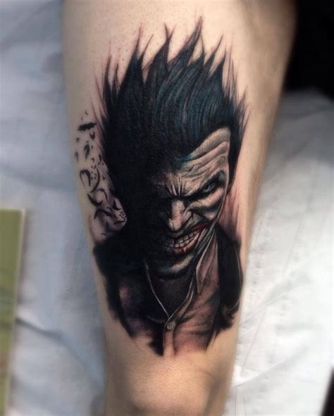 tattoo batman joker batman tattoo joker tattoo tattoos pinterest batman