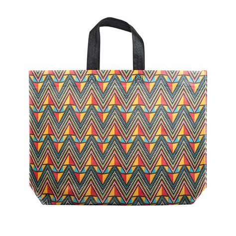 Etnic Bag patterned non woven bag ethnic bag