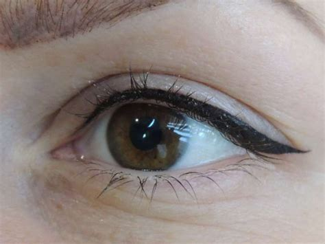 permanent eyeliner tattoo pin by gwen coursey on permanent make up